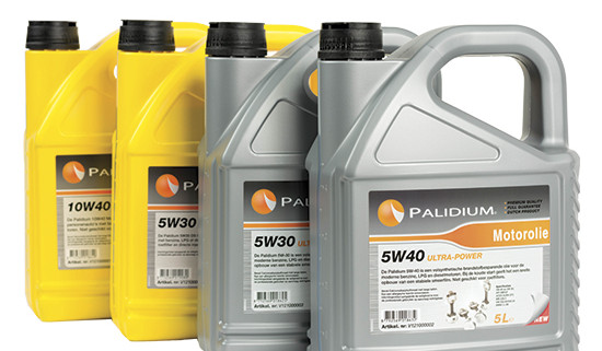 Palidium assortiment olie